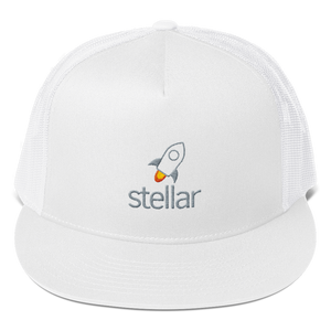 bitcoin hat club - Stellar Trucker Hat [XLM]