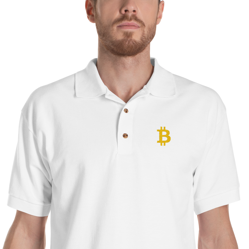 bitcoin hat club - Bitcoin Embroidered Polo Shirt [BTC] | Bitcoin Hat Club Signature Collection
