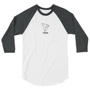 bitcoin hat club - Tron Baseball Shirt [TRX]