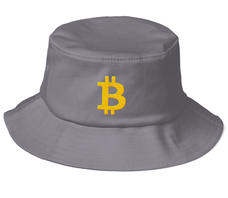 bitcoin hat club - Old School Bitcoin Bucket Hat [BTC]
