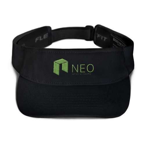 bitcoin hat club - NEO Visor [NEO]