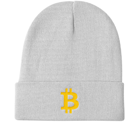bitcoin hat club - Bitcoin Knit Beanie [BTC]