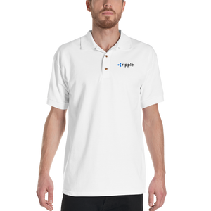 bitcoin hat club - Ripple Embroidered Polo Shirt [XRP] | Bitcoin Hat Club Signature Collection