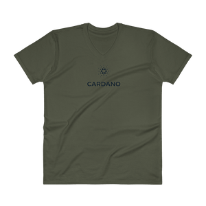 bitcoin hat club - Cardano V-Neck T-Shirt [ADA]