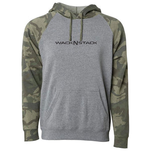 Unisex Forest Camo Sleeve Hoodie