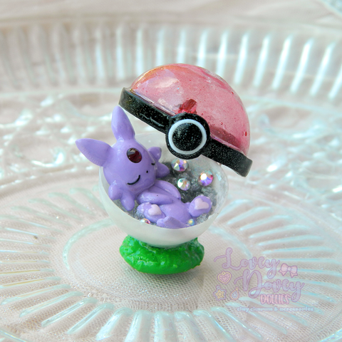Sleeping Espeon Figurine