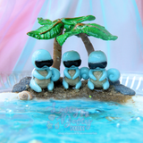 Squirtle Beach Figurine