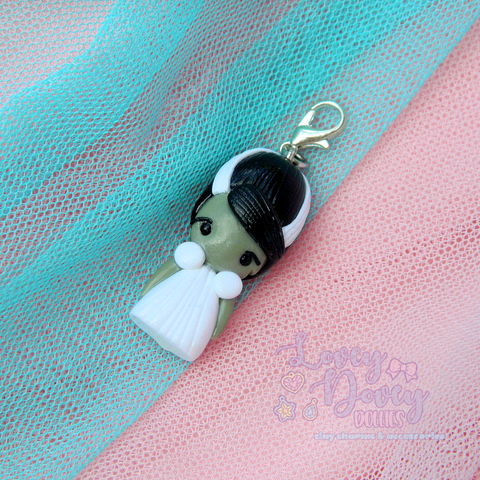 Bride of Frankenstein Doll charm