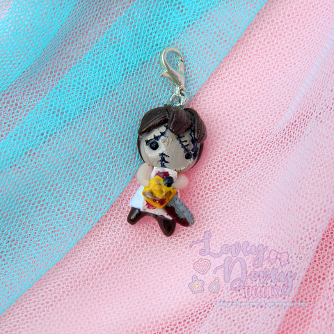 Leatherface Doll charm