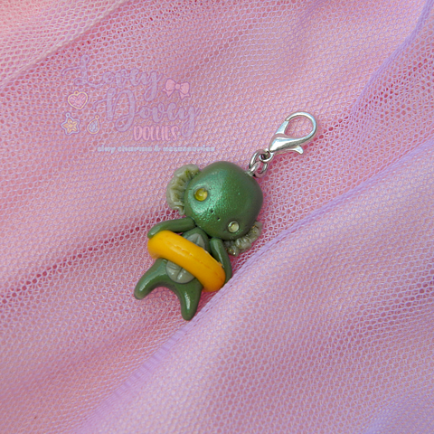 Swamp Thing Doll charm