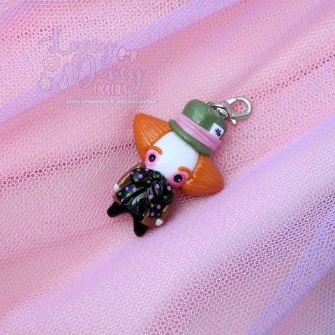 Mad Hatter Doll charm