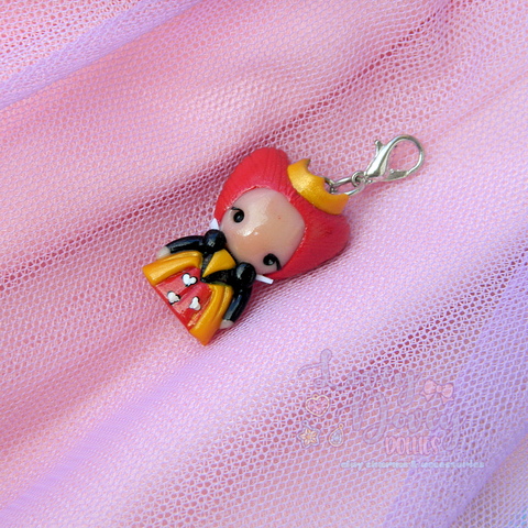 Queen of Hearts Doll charm