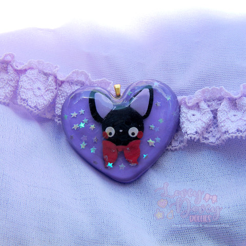 Jiji heart shaped pendant