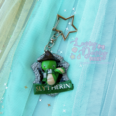 Slytherin house crest Keychain