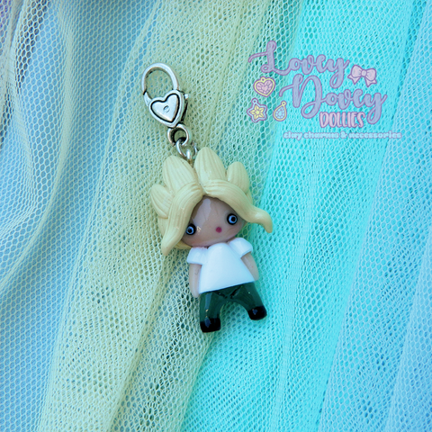 Deflated All Might Doll charm