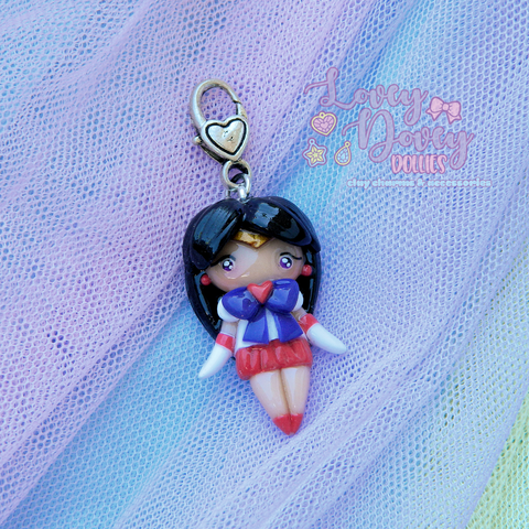 Sailor Mars Doll charm