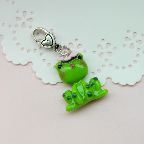 Frog Doll charm