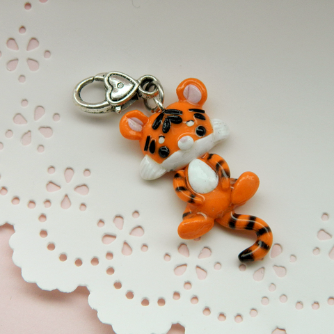 Baby Tiger Doll charm