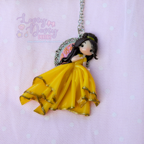 Belle Doll Pendant