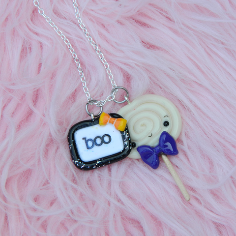 Boo & Ghost lollipop set