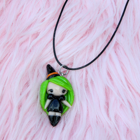 Kawaii Witch Doll charm