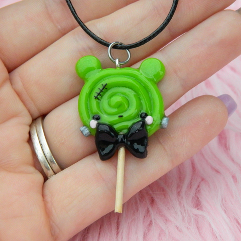 Frankenstein lollipop charm