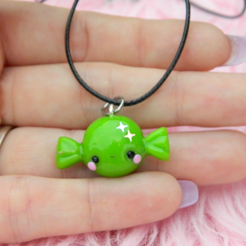 Green Candy charm
