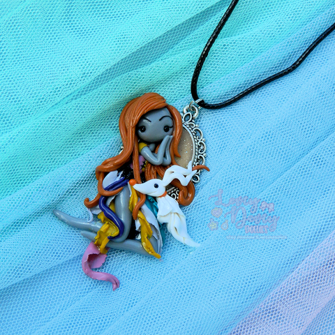 Sally & Zero Doll Pendant