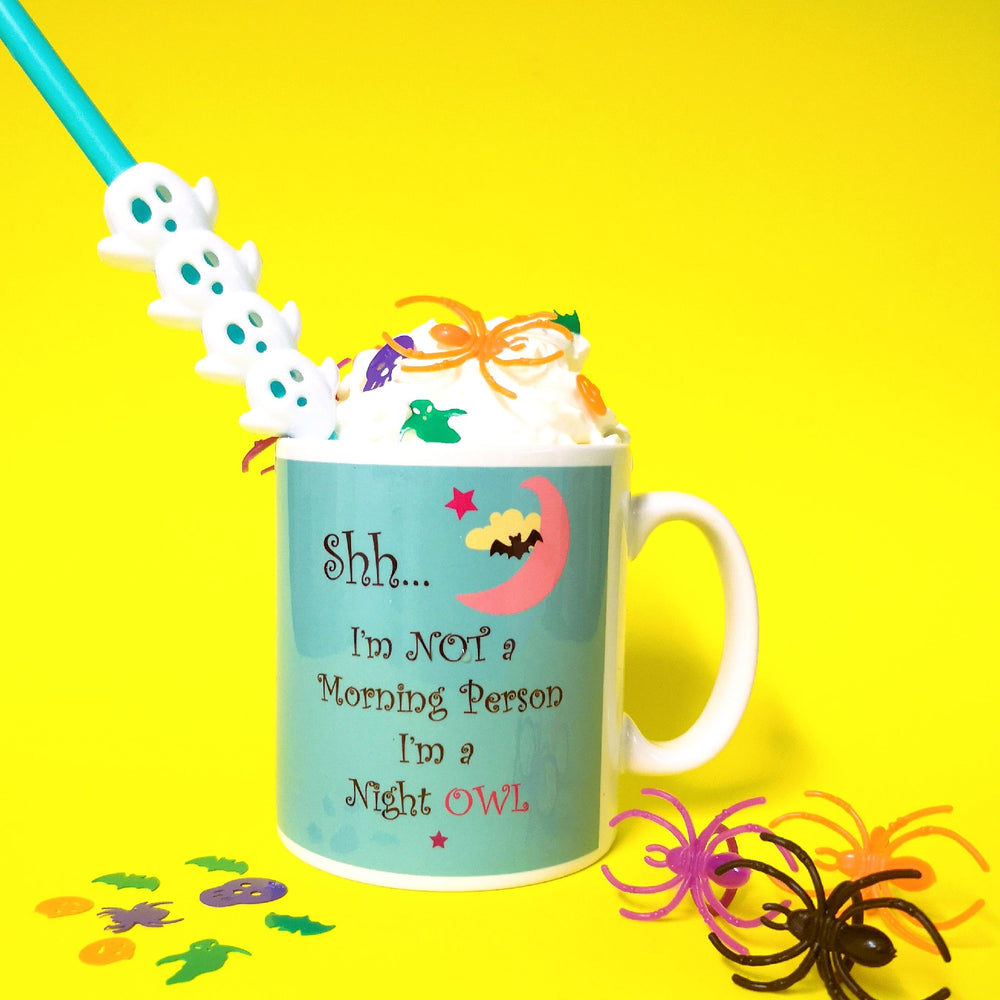 Not a morning person mug from colour your life club