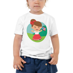 Jibarita Illustration Toddler Tee