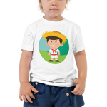 Jibarito Illustration Toddler Tee
