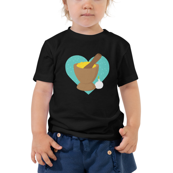 Mofongo Love Toddler Tee