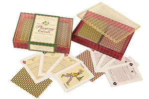 "Red and White Wine ""Grand Cru"" Playing Cards Set"