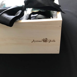 Large Open Top Wooden Gift Box