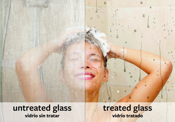 EnduroShield Home Easy Clean Treatment 500 ml Kit For Glass Showers, Glass Balustrades, Pool Fencing, Windows & More