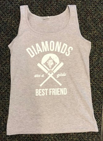 Diamonds Are A Girls Best Friend Tank