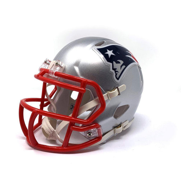 New England Patriots NFL Collectible Mini Helmet - Picture Inside - FANZ Collectibles