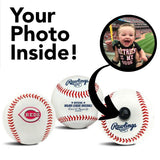 Cincinnati Reds MLB Collectible Baseball - Picture Inside - FANZ Collectibles