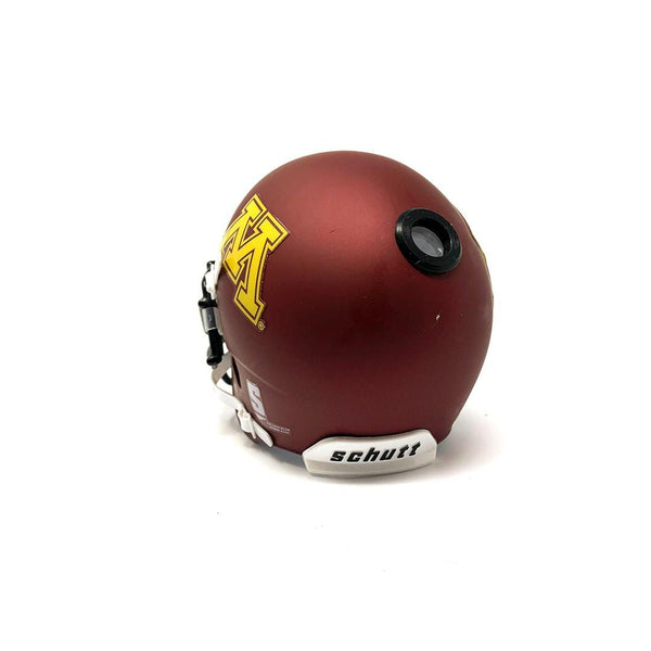 Minnesota Golden Gophers College Football Collectible Schutt Mini Helmet - Picture Inside - FANZ Collectibles