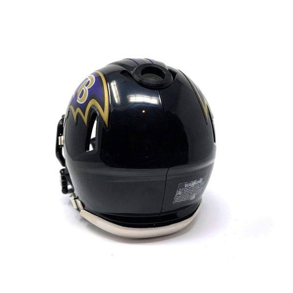 Baltimore Ravens NFL Collectible Mini Helmet - Picture Inside - FANZ Collectibles - Fanz Collectibles
