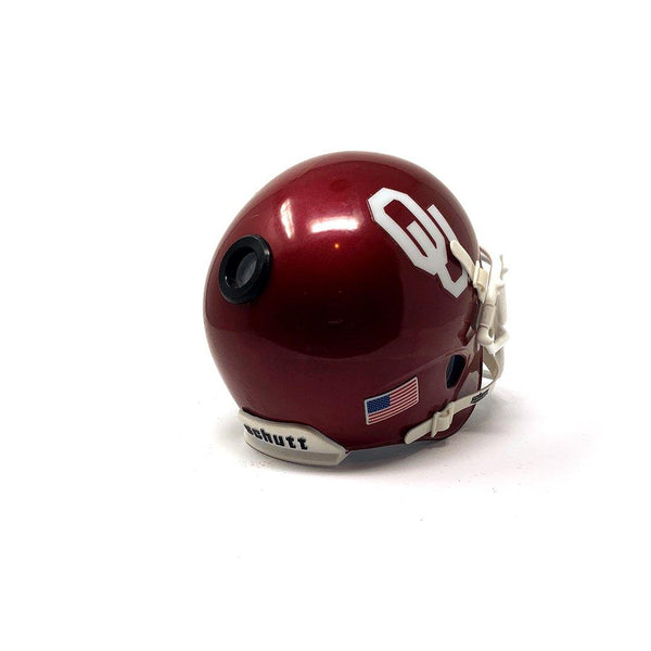 Oklahoma Sooners College Football Collectible Schutt Mini Helmet - Picture Inside - FANZ Collectibles