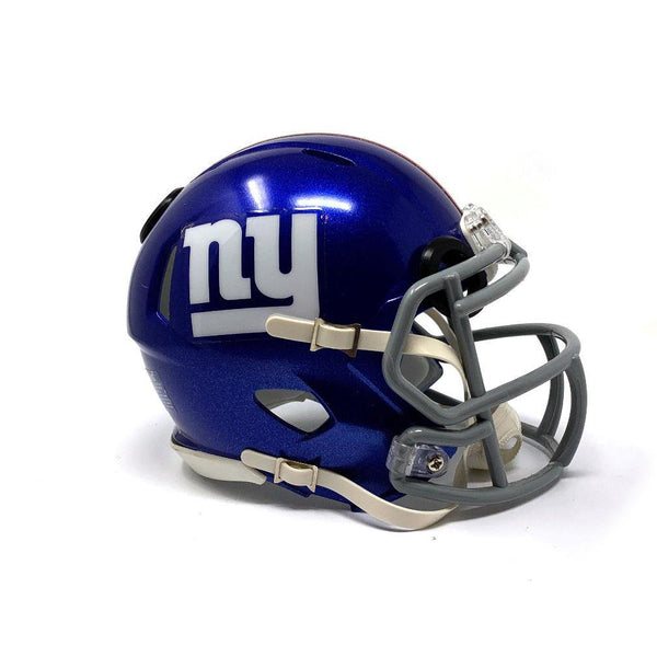 New York Giants NFL Collectible Mini Helmet - Picture Inside - FANZ Collectibles