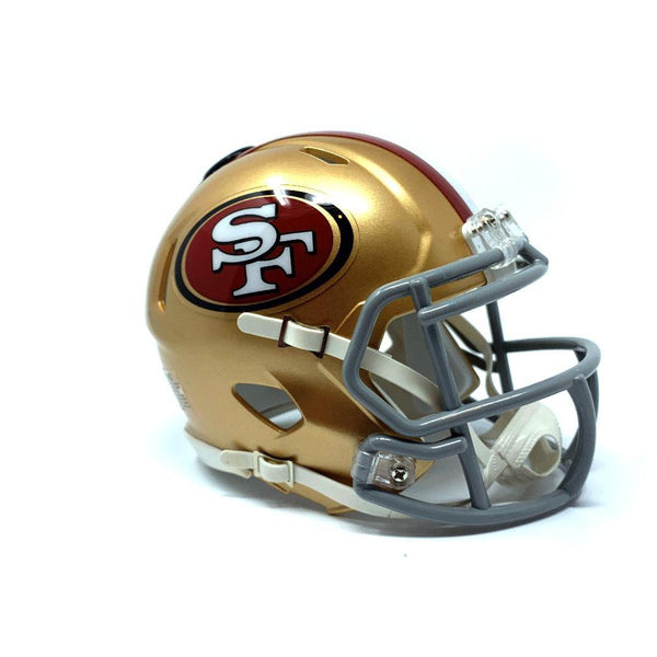 San Francisco 49ers NFL Collectible Mini Helmet - Picture Inside - FANZ Collectibles