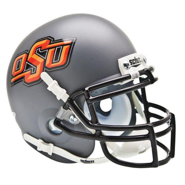 Oklahoma State Cowboys College Football Collectible Schutt Mini Helmet - Picture Inside - FANZ Collectibles - Fanz Collectibles