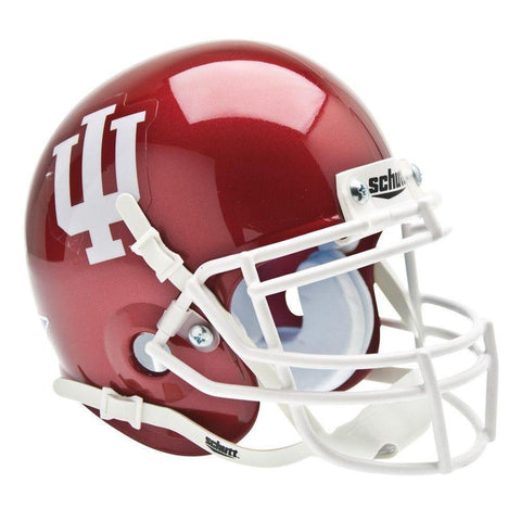 Indiana Hoosiers College Football Collectible Schutt Mini Helmet - Picture Inside - FANZ Collectibles