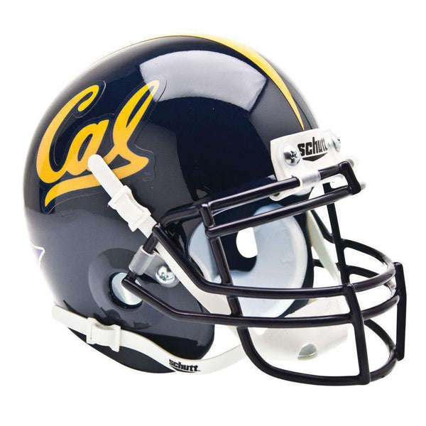 California Golden Bears College Football Collectible Schutt Mini Helmet - Picture Inside - FANZ Collectibles