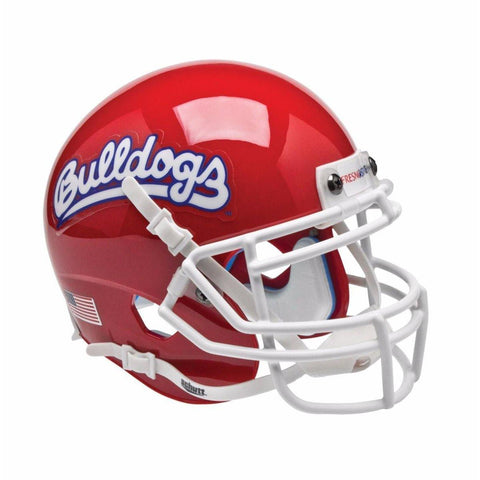 Fresno State Bulldogs College Football Collectible Schutt Mini Helmet - Picture Inside - FANZ Collectibles