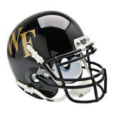 Wake Forest Demon Deacons College Football Collectible Schutt Mini Helmet - Picture Inside - FANZ Collectibles