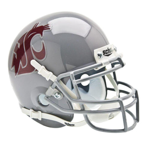 Washington State Cougars College Football Collectible Schutt Mini Helmet - Picture Inside - FANZ Collectibles