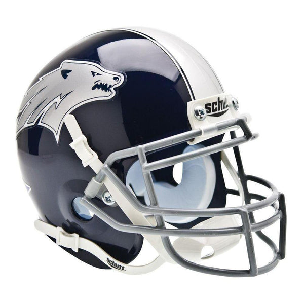 Nevada Wolf Pack College Football Collectible Schutt Mini Helmet - Picture Inside - FANZ Collectibles